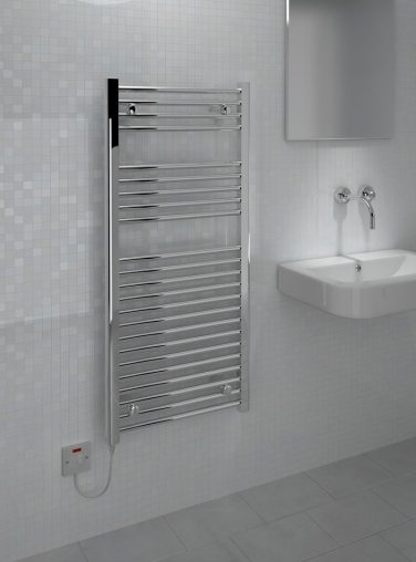 Kudox Electric Towel Rail Straight Standard 500mm X 1100mm