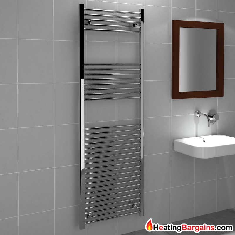Kudox Tradex Ladder Towel Rail Flat D 600mm X 1800mm
