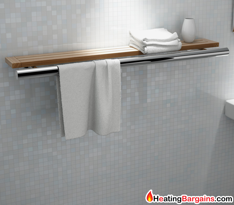 Kudox HeatBar Shelf Electric Designer Towel Rail Dry Element ...