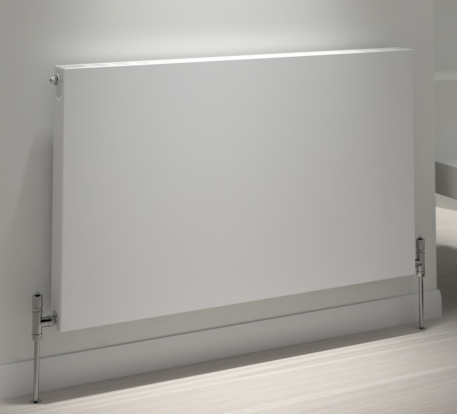 Design Convector Radiator.Kudox Flat Surface Radiator Type 21 Double Panel Single Convector 600mm X 1600mm