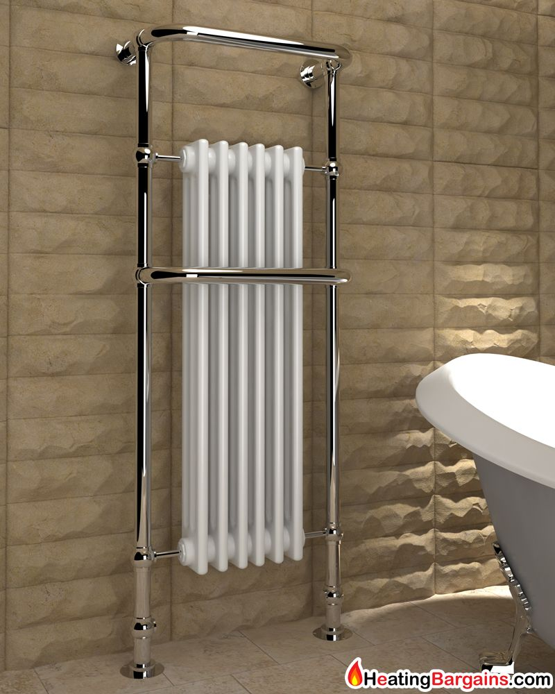 Kudox Victoria Tall Traditional Heated Towel Rail 576mm X