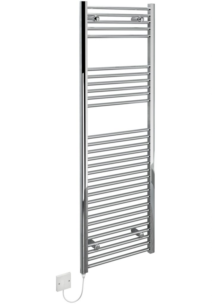 kudox electric towel rail chrome 400w  500 x 1500mm