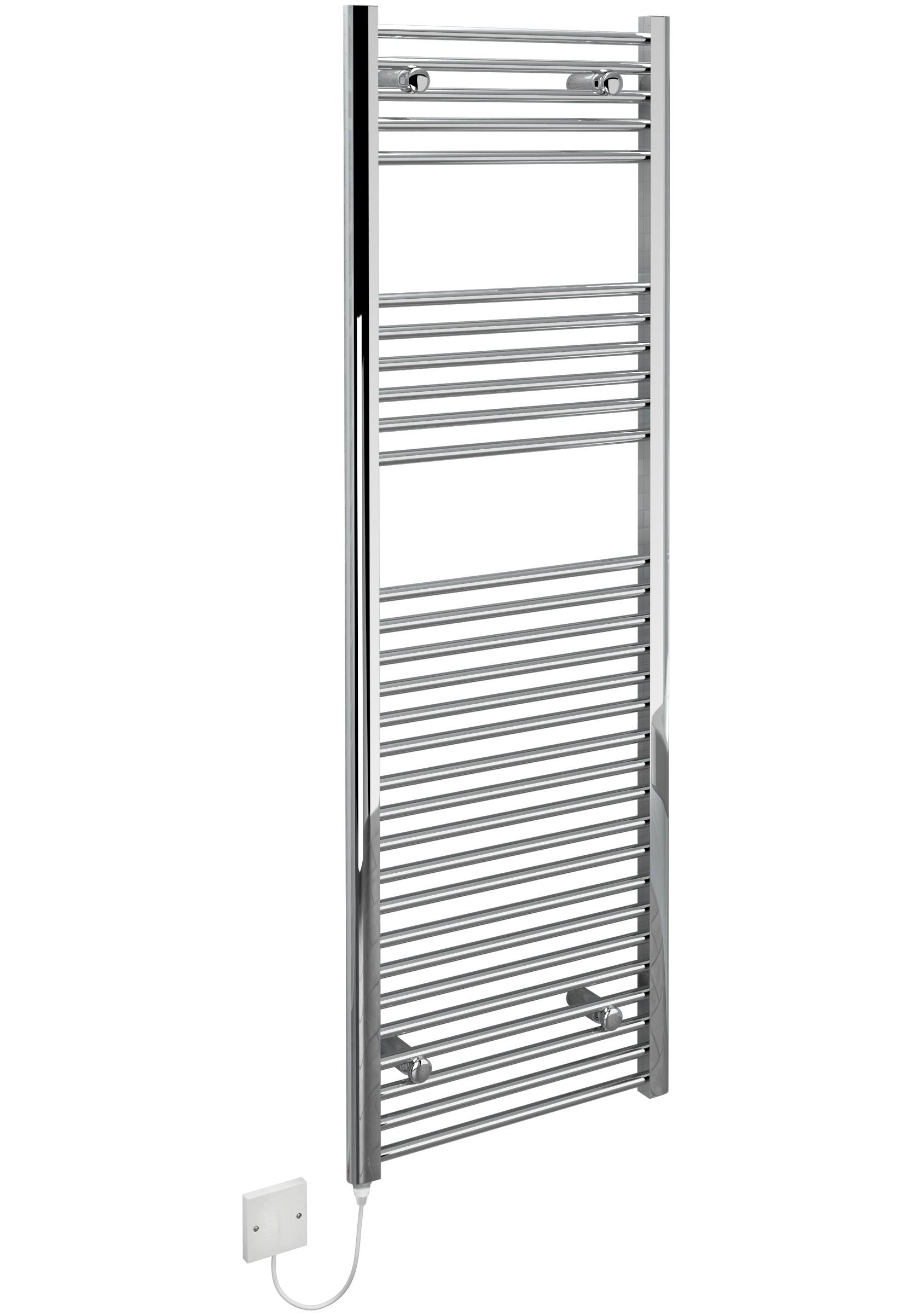 kudox electric towel rail chrome 400w  500 x 1500mm
