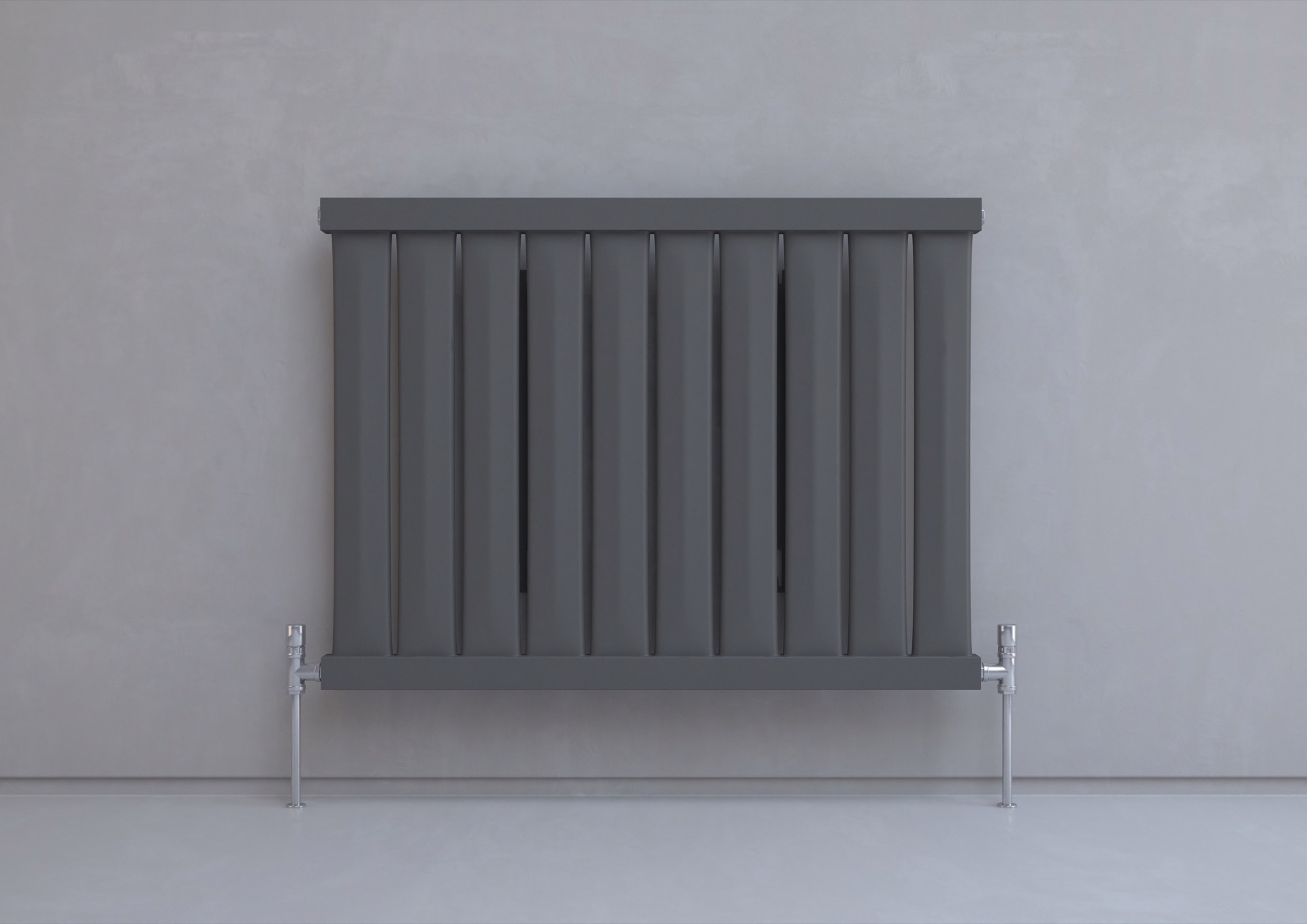 Designer Kitchen Radiators Kudox Elmas Radiator 600mm X 810mm Anthracite Heating