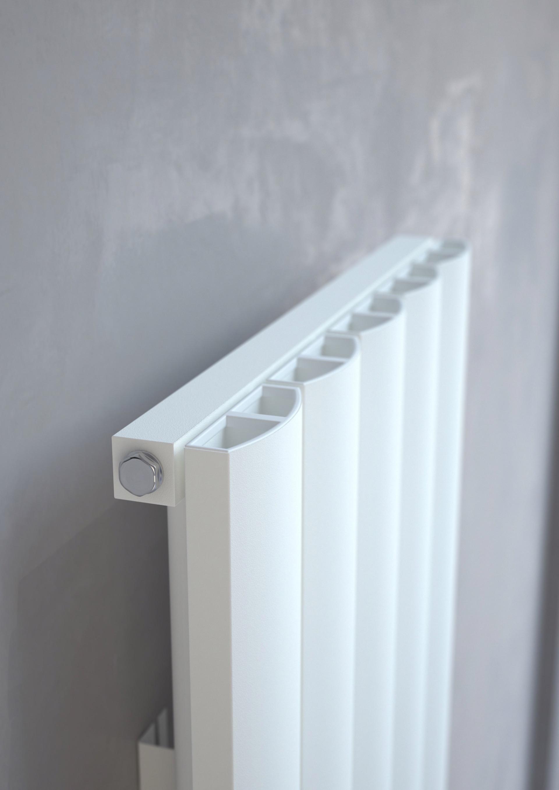 Kudox AluLite ARC Aluminium Radiator Vertical - Heating Bargains ...